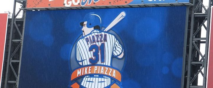 Mike Piazza – much better Dodger than a Met